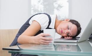Illustration - thyroid causes fatigue
